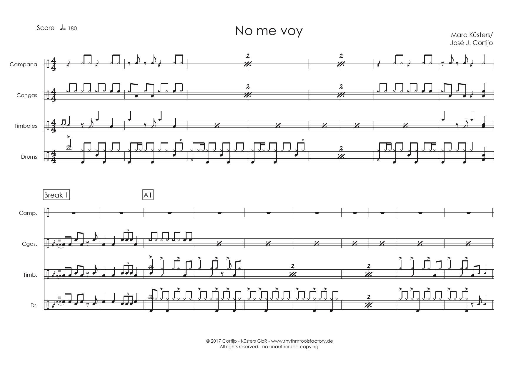 <b>iPlay Latin Vol I.</b>- No Me Voy -